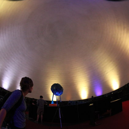 The Zeiss Planetarium in Jena Germany. Photo: Chris Brannan