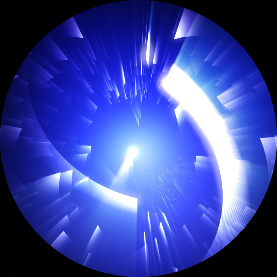 A fisheye projection image from Stardancer's Waltz