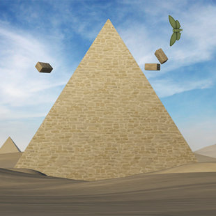 Assets for 'Pyramid' level.
