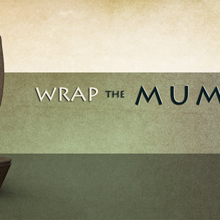Title for 'Mummy' level of the game.