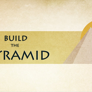 Title for 'Pyramid' level of the game.